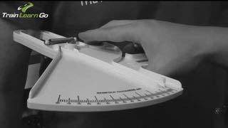 fat calipers measuring bodyfat